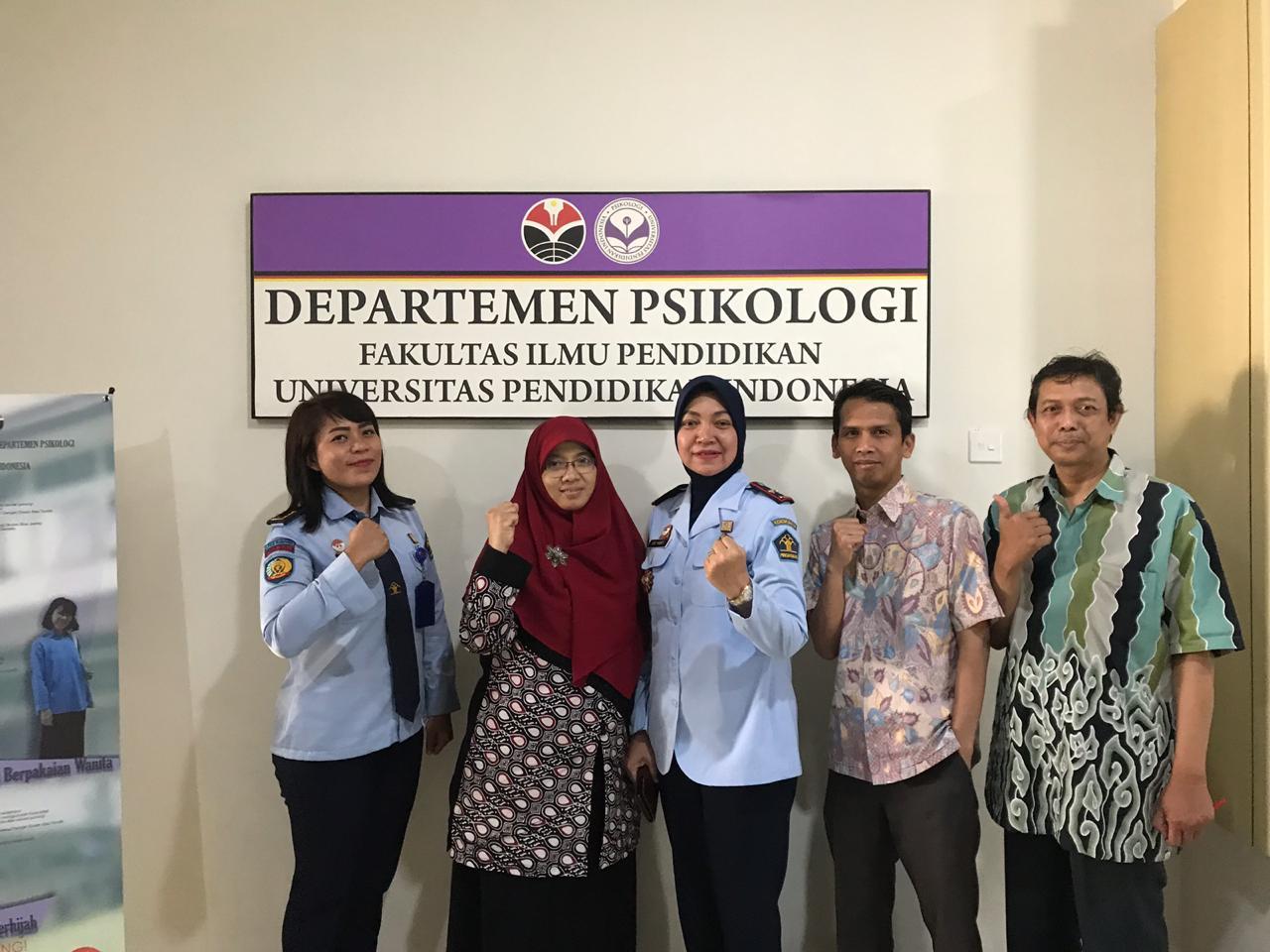 Kunjungan Kepala LPKA Bandung ke Departemen Psikologi UPI & Fakultas Ilmu Pendidikan UPI