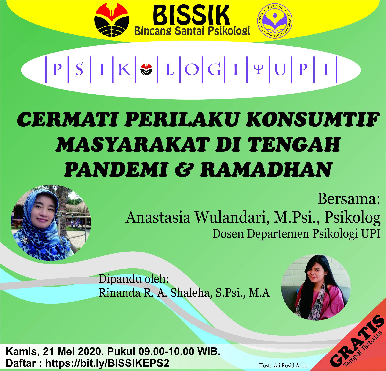 Cermati Perilaku Konsumtif Masyarakat di Tengah Pandemi & Ramadhan